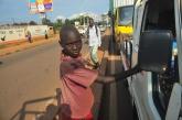 Uganda street child